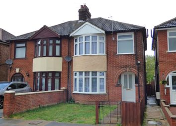 Thumbnail 3 bed semi-detached house to rent in Dales View Road, Ipswich