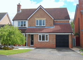 Thumbnail 5 bed detached house for sale in Harebell Close, Northallerton