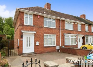 Thumbnail 3 bedroom end terrace house for sale in Auckland Road, Smethwick