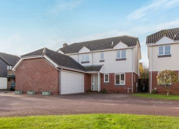 Thumbnail 4 bed detached house for sale in Cundell Drive, Cottenham, Cambridge