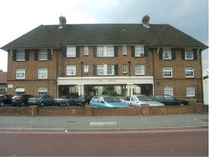 Thumbnail 2 bed flat to rent in The Holt, London Road, Morden, Surrey