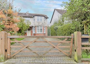 Thumbnail 3 bed semi-detached house for sale in Chequers Lane, Walton On The Hill, Tadworth, Surrey.
