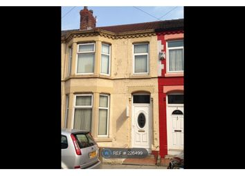 Thumbnail 3 bed terraced house to rent in Woodhall Road, Liverpool