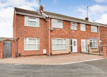 Thumbnail 4 bed semi-detached house for sale in Thorndale, Hull