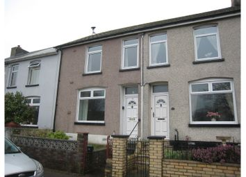 Thumbnail 3 bed terraced house for sale in Barnfield Terrace, Pontypool