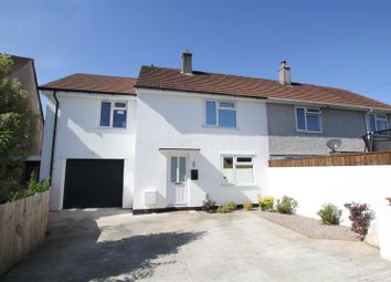 Thumbnail 4 bed semi-detached house for sale in Reynolds Road, Plympton, Plymouth