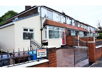 Thumbnail 3 bed end terrace house for sale in Melverley Road, Manchester