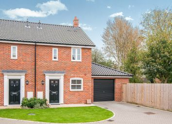 Thumbnail 2 bedroom semi-detached house for sale in Ernest Seaman Close, Scole, Diss