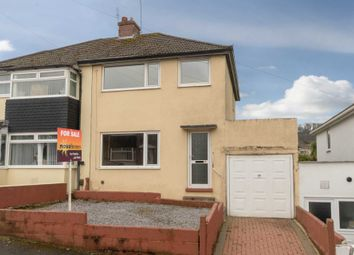 Thumbnail 3 bed semi-detached house for sale in Fanshawe Way, Plymstock