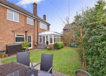 Thumbnail 4 bedroom detached house for sale in Victoria Road, Walderslade, Chatham, Kent