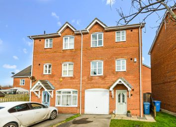 Thumbnail 3 bed town house for sale in 26 Briarwood Close, Bransholme, Hull