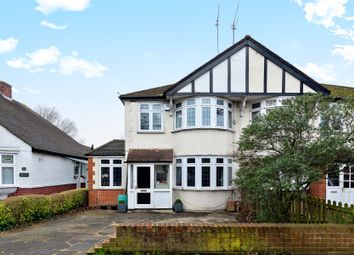 Thumbnail 3 bed semi-detached house for sale in Cheam Road, Ewell Village