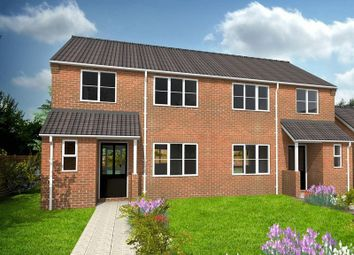 Thumbnail 3 bed semi-detached house for sale in Cumberland Close, Scampton, Lincoln
