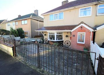 Thumbnail 3 bed semi-detached house for sale in Manley Close, Tonyrefail, Porth