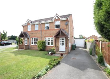Thumbnail 3 bed semi-detached house for sale in Caister, Amington, Tamworth