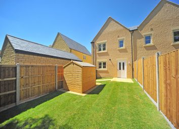 Thumbnail 2 bedroom end terrace house for sale in Cinder Lane, Fairford