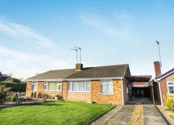 Thumbnail 2 bed semi-detached bungalow for sale in Abbey Close, Sawtry, Huntingdon