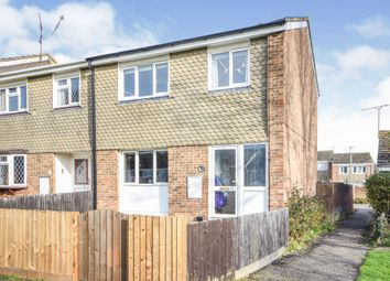 Thumbnail 3 bed end terrace house for sale in Crouch Drive, Witham
