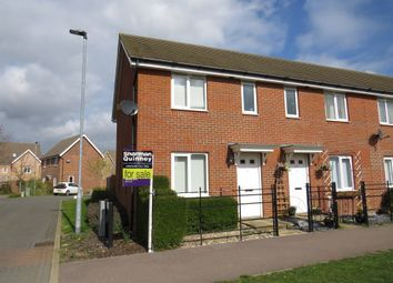 Thumbnail 2 bedroom end terrace house for sale in Sterling Way, Upper Cambourne, Cambridge