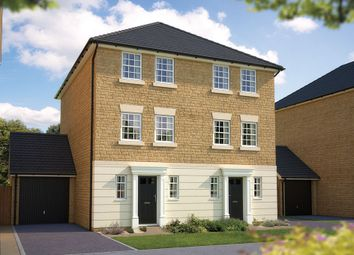 "Thumbnail 3 bed town house for sale in ""The Portman"" at Coupland Road, Selby"