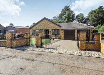Thumbnail 4 bed detached bungalow for sale in Woodend Road, Heacham, King's Lynn