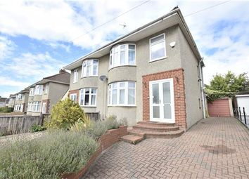 Thumbnail 3 bed semi-detached house for sale in Kelston Grove, Hanham