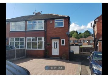 Thumbnail 3 bed semi-detached house to rent in Dovedale Avenue, Manchester