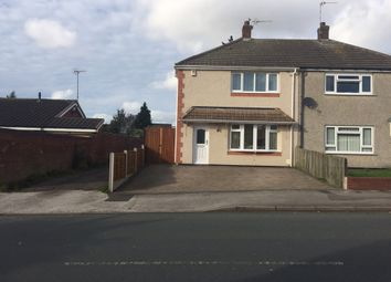 Thumbnail 3 bedroom semi-detached house for sale in Popular Avenue, Bentley, Walsall WS20Ew