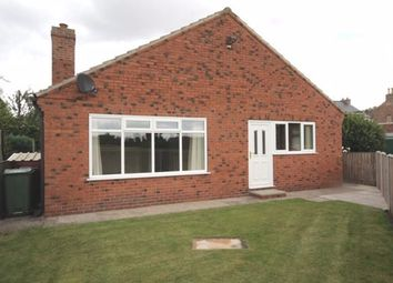 Thumbnail 2 bed bungalow to rent in Station Lane, Cliffe, Selby