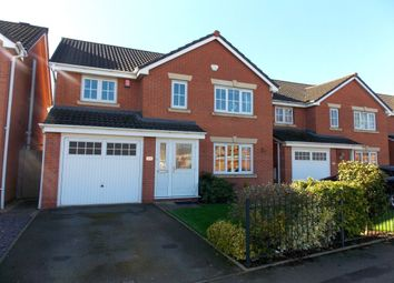 Thumbnail 4 bed detached house for sale in Longmeadow Crescent, Shard End, Birmingham