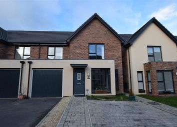 Thumbnail 3 bed semi-detached house to rent in Ffordd Y Mileniwm, Barry