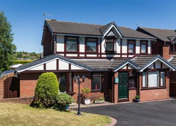 Thumbnail 5 bed detached house for sale in Slindon Close, Newcastle-Under-Lyme
