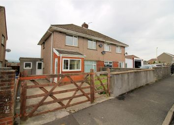 Thumbnail 3 bed semi-detached house for sale in Heol Maendy, Sarn, Bridgend