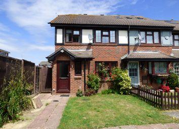 Thumbnail 3 bed end terrace house to rent in Kendal Close, Littlehampton