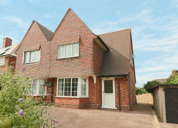 Thumbnail 3 bedroom semi-detached house for sale in Flintham Drive, Sherwood, Nottingham
