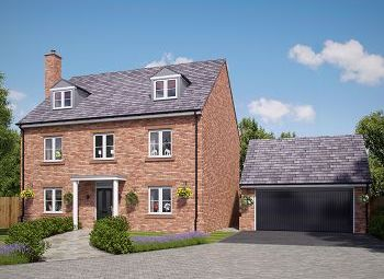 Thumbnail 5 bed detached house for sale in Church Street, Davenham, Northwich