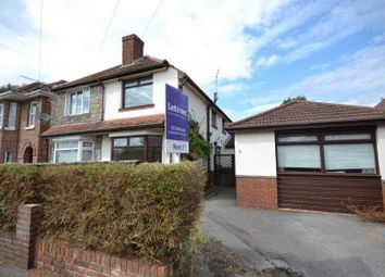 Thumbnail 3 bed semi-detached house to rent in River View Road, Southampton