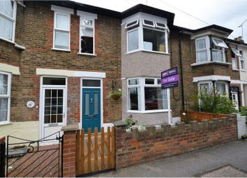 Thumbnail 4 bed terraced house for sale in Victoria Road, Brentwood