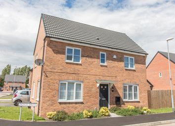 Thumbnail 3 bed detached house for sale in Indigo Drive, Burbage, Hinckley