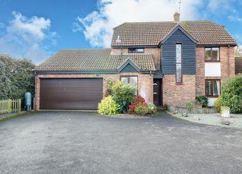 Thumbnail 5 bed detached house for sale in Inkpen Gardens, Lychpit, Basingstoke