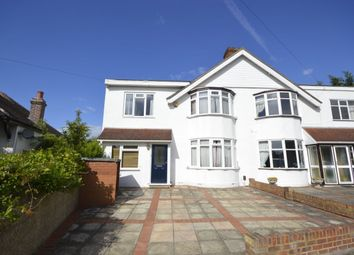 Thumbnail 4 bed semi-detached house for sale in Sheringham Avenue, Whitton, Twickenham