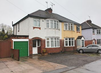 Thumbnail 3 bed semi-detached house for sale in Little Glen Road, Glen Parva, Leicester