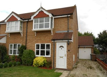 Thumbnail 2 bed semi-detached house to rent in Shardloes, Branston, Lincoln