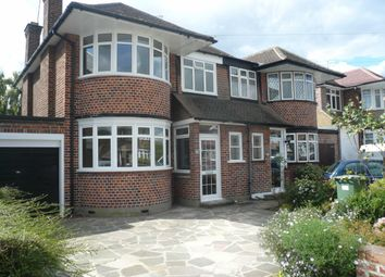 Thumbnail 3 bed semi-detached house to rent in Cannonbury Avenue, Pinner