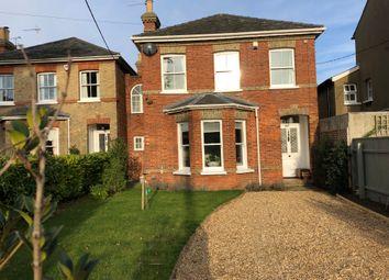 Thumbnail 4 bed detached house for sale in Warren Hill Road, Woodbridge, Suffolk