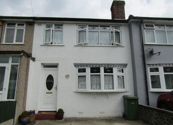 Thumbnail 3 bedroom terraced house for sale in Woodcote Avenue, Hornchurch