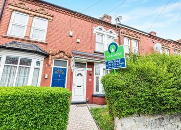 Thumbnail 2 bed terraced house for sale in Selsey Road, Edgbaston, Birmingham