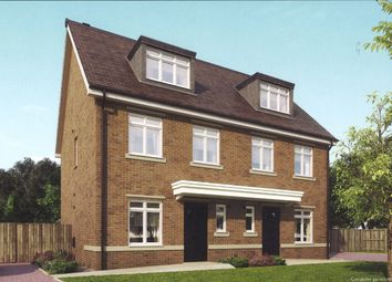 Thumbnail 4 bed terraced house for sale in Woodlands Avenue, Earley, Reading