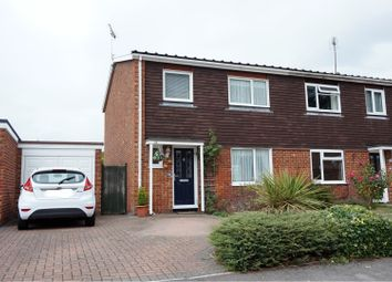 Thumbnail 3 bed semi-detached house for sale in Drake Close, Wokingham