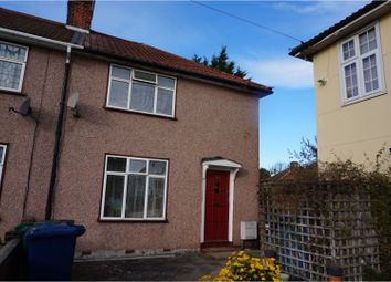 Thumbnail 2 bed end terrace house to rent in Homefield Road, Edgware